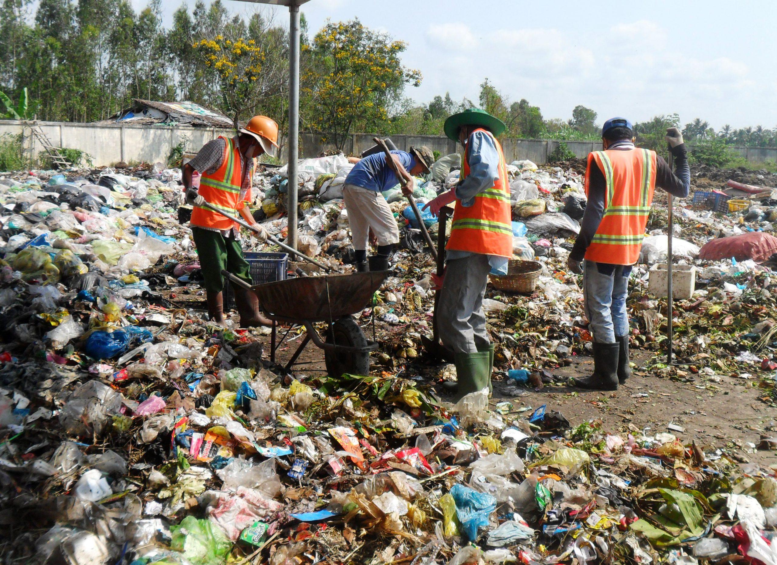 rác vô cơ và rác hữu cơ