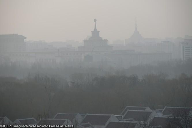 Hình ảnh ô nhiễm môi trường không khí nghiêm trọng