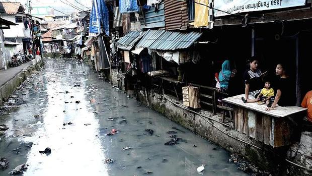 Bức ảnh ô nhiễm môi trường trầm trọng