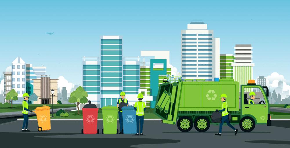 Quy trình phân loại rác thải sinh hoạt