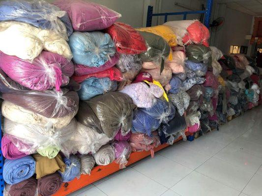 Thu mua vải tận xưởng may, nhà máy xí nghiệp