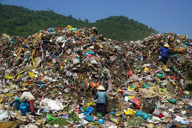 thực trạng của rác thải sinh hoạt