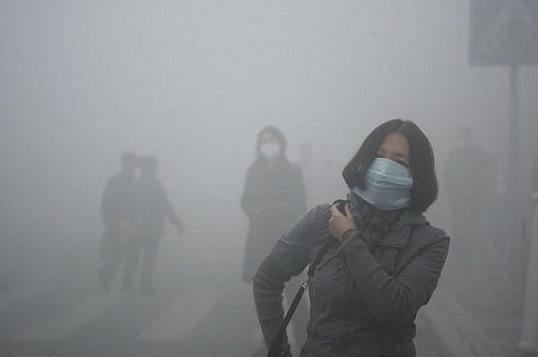 Hình ảnh ô nhiễm không khí